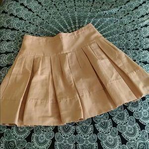BCBGMaxAzria Blush Pink Pleated Skirt